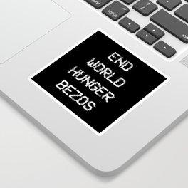 End World Hunger Sticker