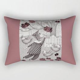 Autumn Flight Rectangular Pillow