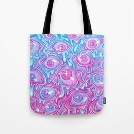 Eyeball Pattern - Version 2 Tote Bag