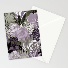 Succulents Art Stationery Cards