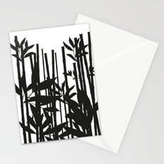 Black Bamboo Stationery Cards