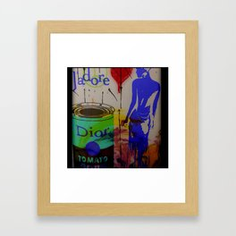 Fashion meets Child's Play Infared Style Framed Art Print