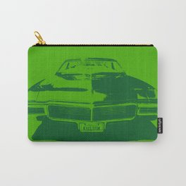 MONOCHROMATIC GREEN BUICK RIVIERA Carry-All Pouch