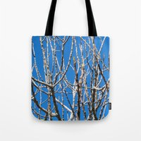 fig Tote Bags featuring Fig by aeolia