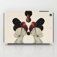 helen iPad Cases featuring helen and clytemnestra by cardboardcities