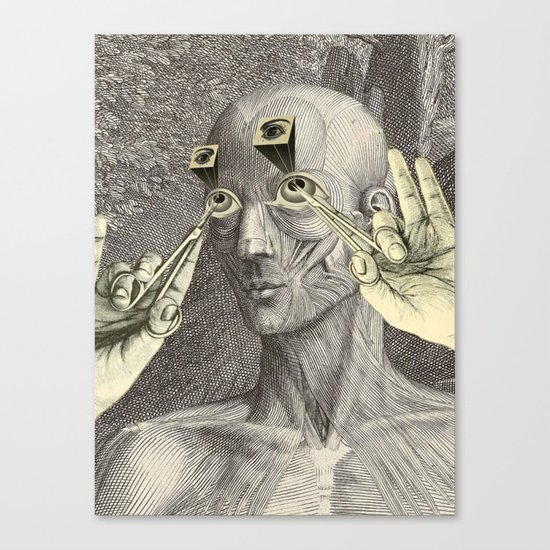 I CAN'T UNSEE IT Canvas Print