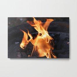 Eternal Flame Metal Print