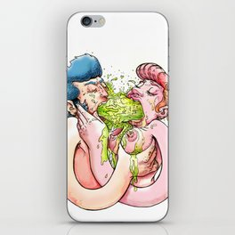 Chunky love iPhone Skin