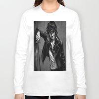 charlie chaplin Long Sleeve T-shirts featuring Charlie Chaplin by Monashka