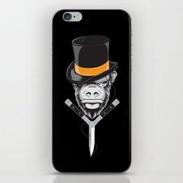 Savage Society: Monocle Monkey iPhone Skin