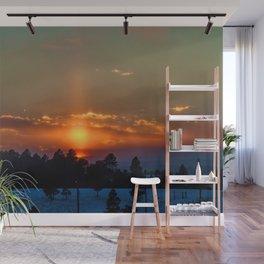 February Sunset Wall Mural