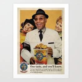 POLLOS HERMANOS Art Print