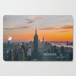 Top Of The Rock at Sunset Cutting Board