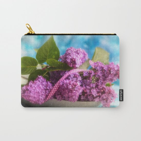 Syringa vulgaris #lilac still life Carry-All Pouch