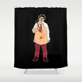 Leatherface - The Texas Chain Saw Massacre Shower Curtain