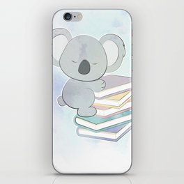 KOALA READS iPhone Skin