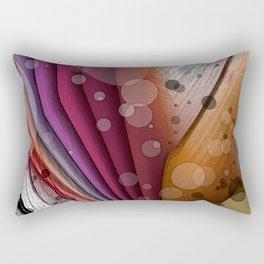 FALL INTO WINTER ABSTRACT ART Rectangular Pillow