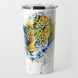 Lurking Leopard Travel Mug