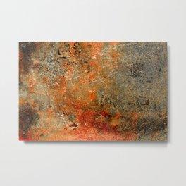 Rust Texture 70 Metal Print