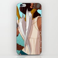 booty iPhone & iPod Skins featuring Booty by MJ Erickson