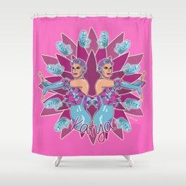 Katya Zamolodchikova - Jelly Fish Shower Curtain