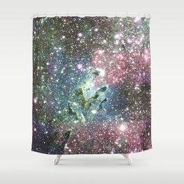 Eagle Nebula Pastel Shower Curtain