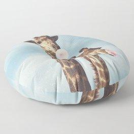 Casual Giraffe Bubblegum  Floor Pillow