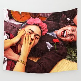 Frida y Chavela Wall Tapestry