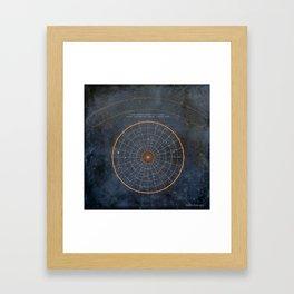 ojolo's constellation Framed Art Print