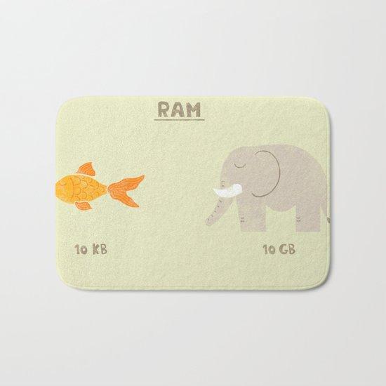 Raminals Bath Mat