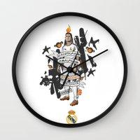 ronaldo Wall Clocks featuring Football Legends: Cristiano Ronaldo by Akyanyme