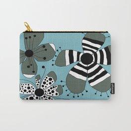FLOWERY GRETA  / ORIGINAL DANISH DESIGN bykazandholly Carry-All Pouch