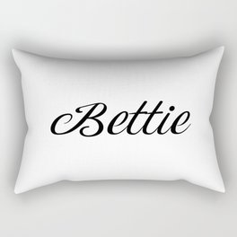 Name Bettie Rectangular Pillow