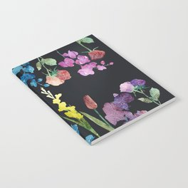 New Flowers at Night Notebook