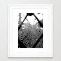 poland Framed Art Prints featuring Auschwitz, Poland. by Grant Pearce