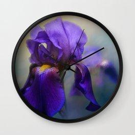 The First Iris Wall Clock