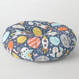 Space Floor Pillow