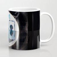 80s Mugs featuring Future 80s by Nikola Kolobaric