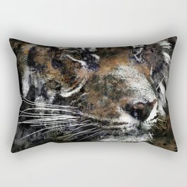 Majestic Tiger Rectangular Pillow
