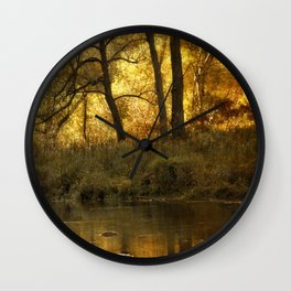 Autumn's Glory Wall Clock