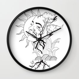 Life Tree Wall Clock