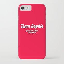 Team Sophie iPhone Case