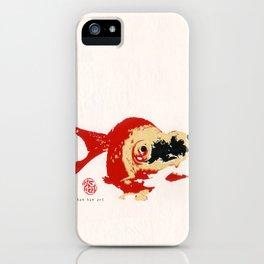 Gold Fish 2 iPhone Case