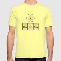 BaZnGa! MEDIUM Lemon Mens Fitted Tee