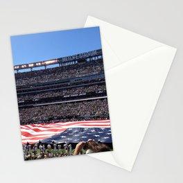Jet's home opener - National Anthem Stationery Cards