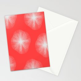 Coral Bust Stationery Cards