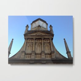 Sundial at Gonville & Caius College, Cambridge (UK) Metal Print