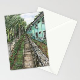 Iguana Walk  Stationery Cards