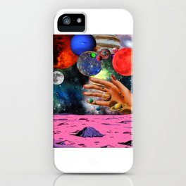 indie galaxy iPhone Case
