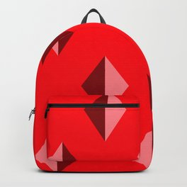 Geometry No. 2 -- Red Backpack
